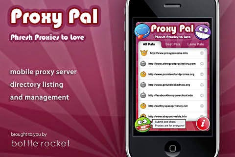 Proxy Pal for iPhone