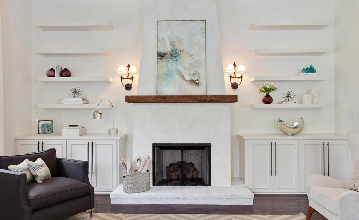 Add rustic wood beams to a contemporary room - 4 unique ways ...