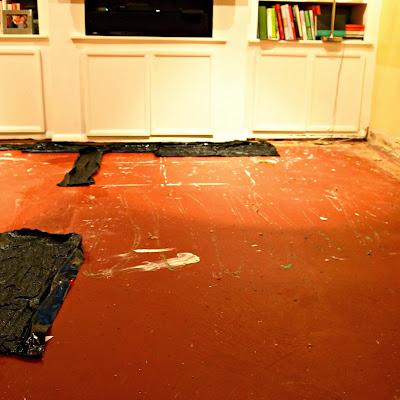 Little Black Door One Room Challenge Family Room Week 2