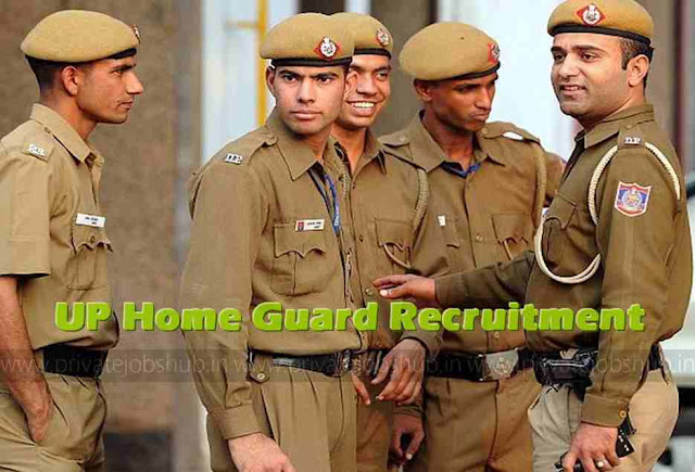 UP Home Guard Recruitment 2018 (25000) UP HG Bharti Notification Apply