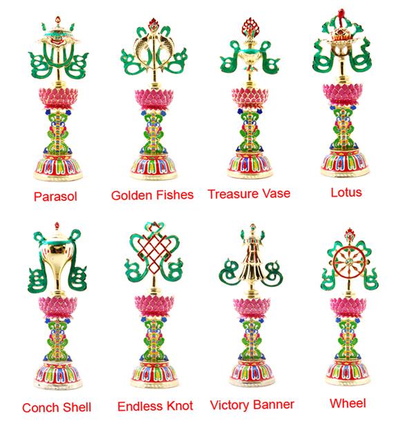 Tibetan Buddhism And Culture The Eight Auspicious Tibetan Symbols
