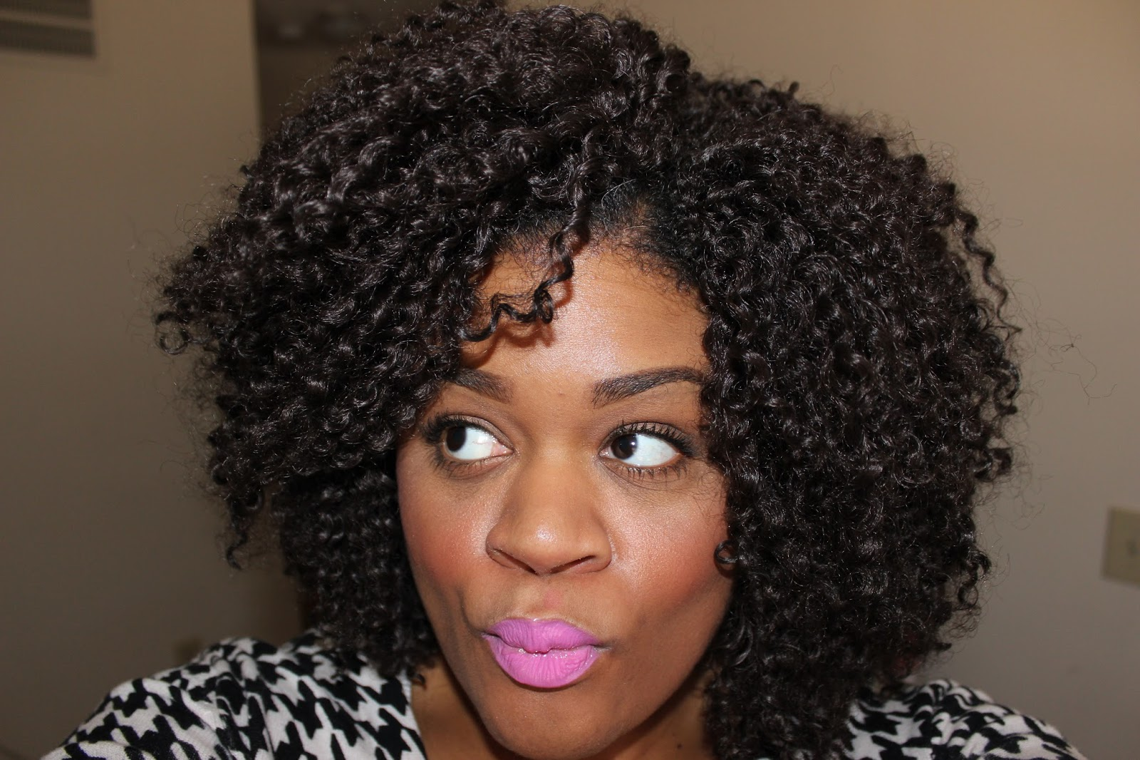 Natural Hair | How I Maintain My Crochet Braids | FabEllis