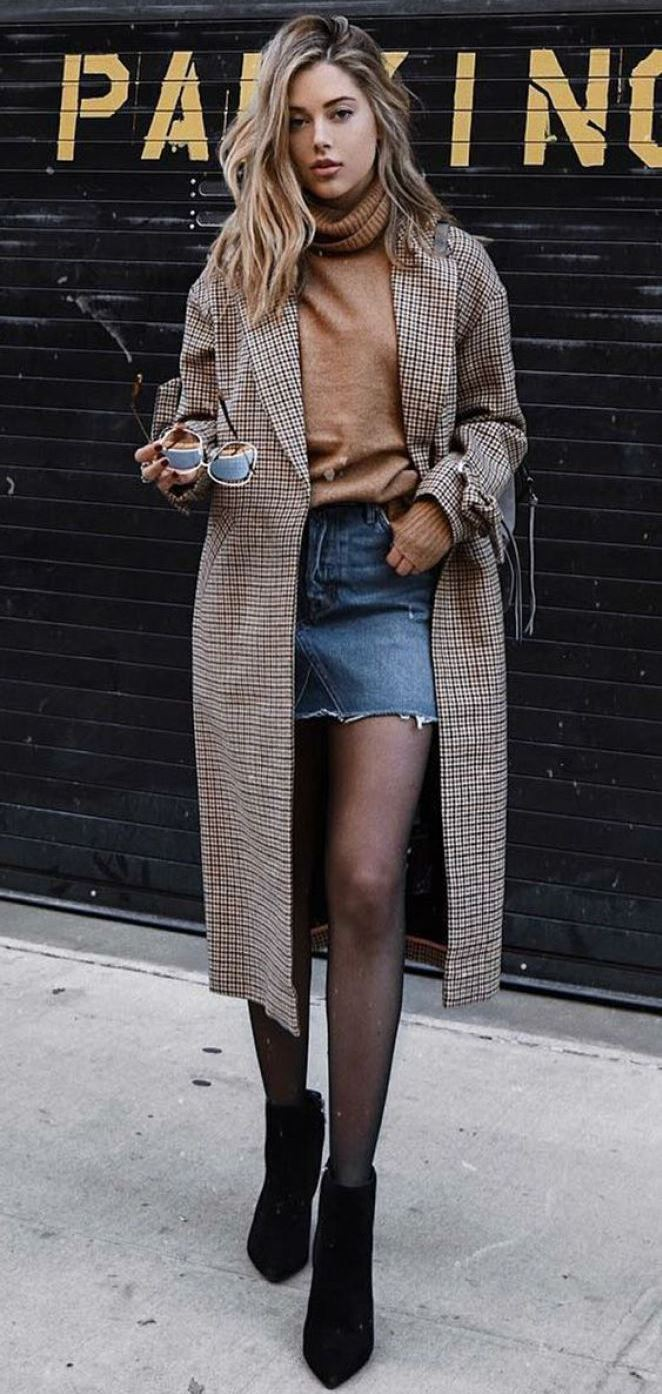 Classy Winter Outfit Inspirations To Wear This Season! 2018/2019