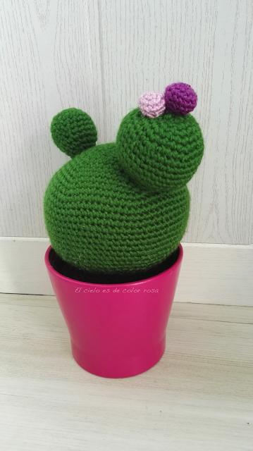 cactus a ganchillo crochet