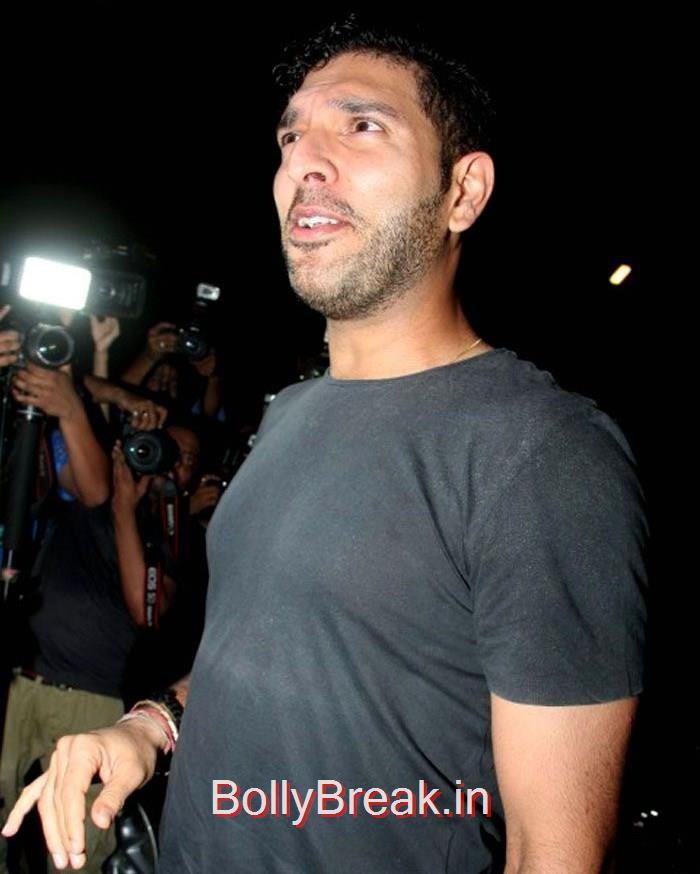 Yuvraj Singh, Celebs At Deepika Padukone's Piku Grand Success Bash Photo Gallery