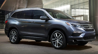 The Honda Pilot is Family Crossover SUV