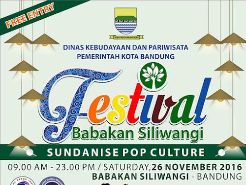 Festival Babakan Siliwangi 2016