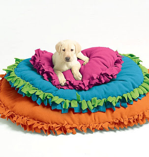 Pinstrosity: No-Sew Pet Bed