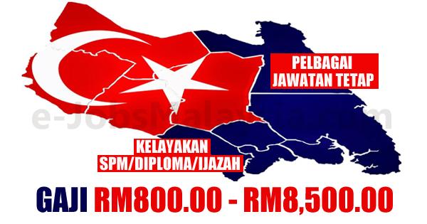 Jawatan Kosong Terbuka di Negari Johor