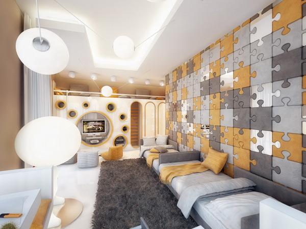 Dormitorios rompecabezas para dos via for Kids room planner