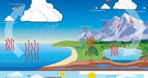 Proses Siklus Air Dan Urutan Tahapannya Terlengkap Geologinesia
