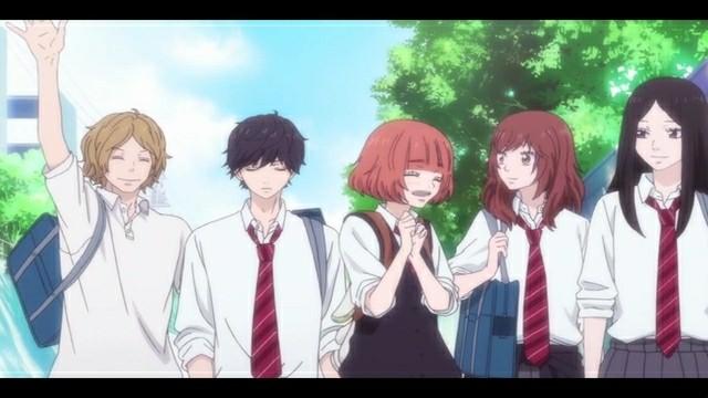 Review Anime Ao Haru Ride