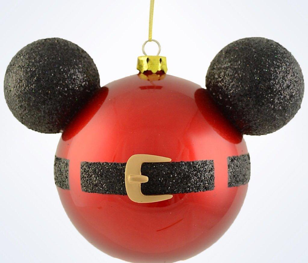 M s y m s manualidades transforma tus esferas navide as for Adornos navidenos mickey mouse