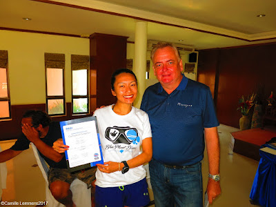 Testimonial by Norie Ishida of the January 2017 PADI IDC on Koh Lanta, Thailand