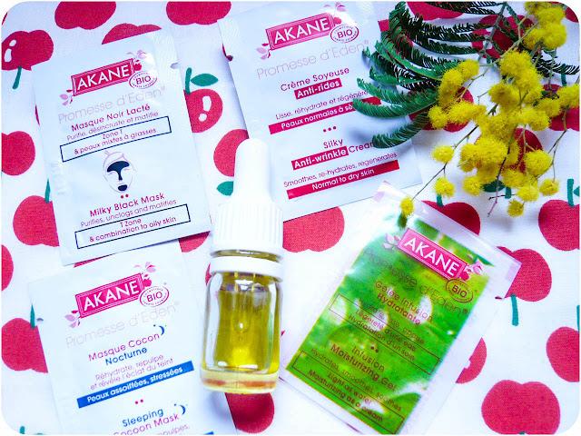 Test de produits Akane Skincare