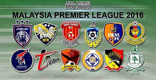 Jadual Keputusan & Kedudukan Terkini Liga Perdana  2016