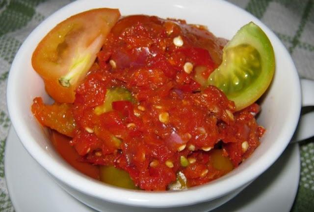Resep sambal tomat enak