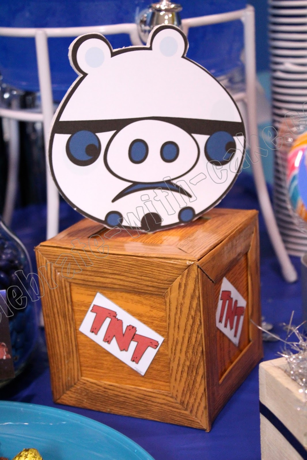 Angry Birds Star Wars Dessert Table Click Post To View