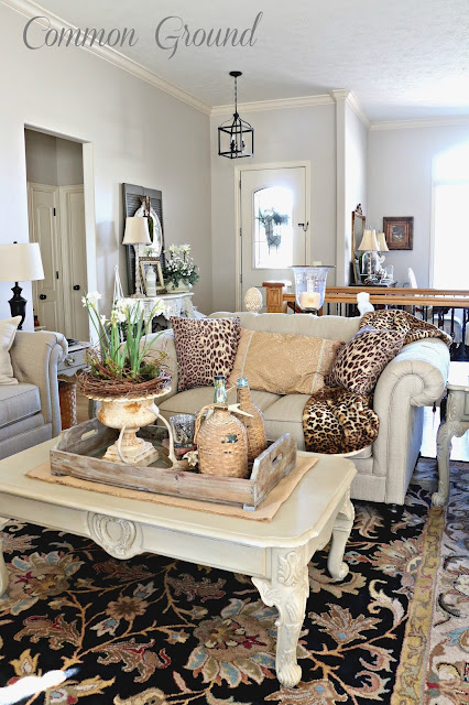 leopard print living room common ground the living room and leopard print pillows 15504