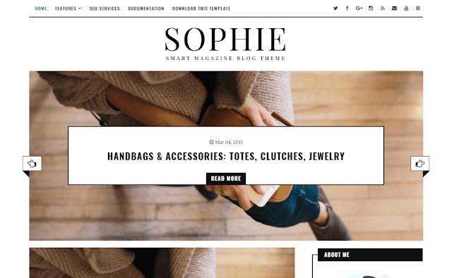 قالب Sophie