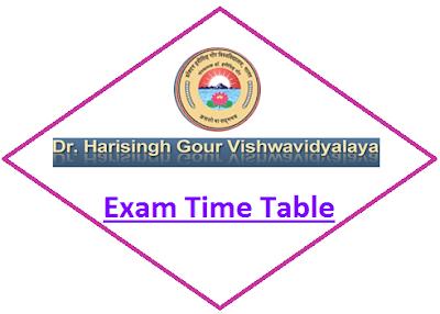 DHSGSU Even Sem Time Table 2020