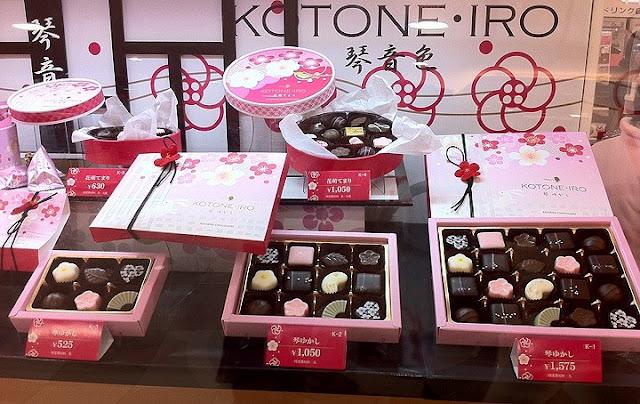 Saint-valentin amour japon chocolat