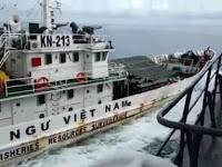 Kapal TNI Ditabrak, Di Era Jokowi Vietnam Berani Injak Harga Diri NKRI