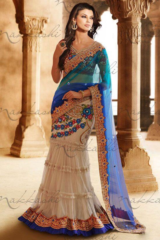 latest designer bridal lehenga saree designs for wedding