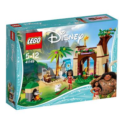 Vaianas Abenteuerinsel von lego disney
