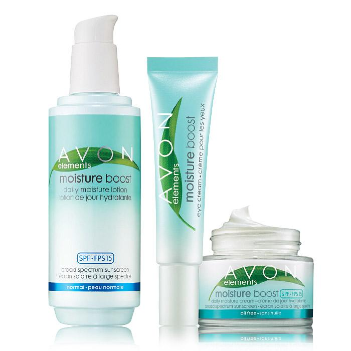 Shop Avon Elements Moisture Boost Trio $12.99