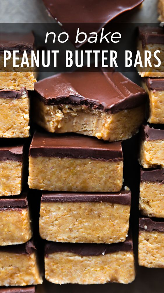 These no-bake chocolate peanut butter bars are incredibly decadent and made from only 5 ingredients.