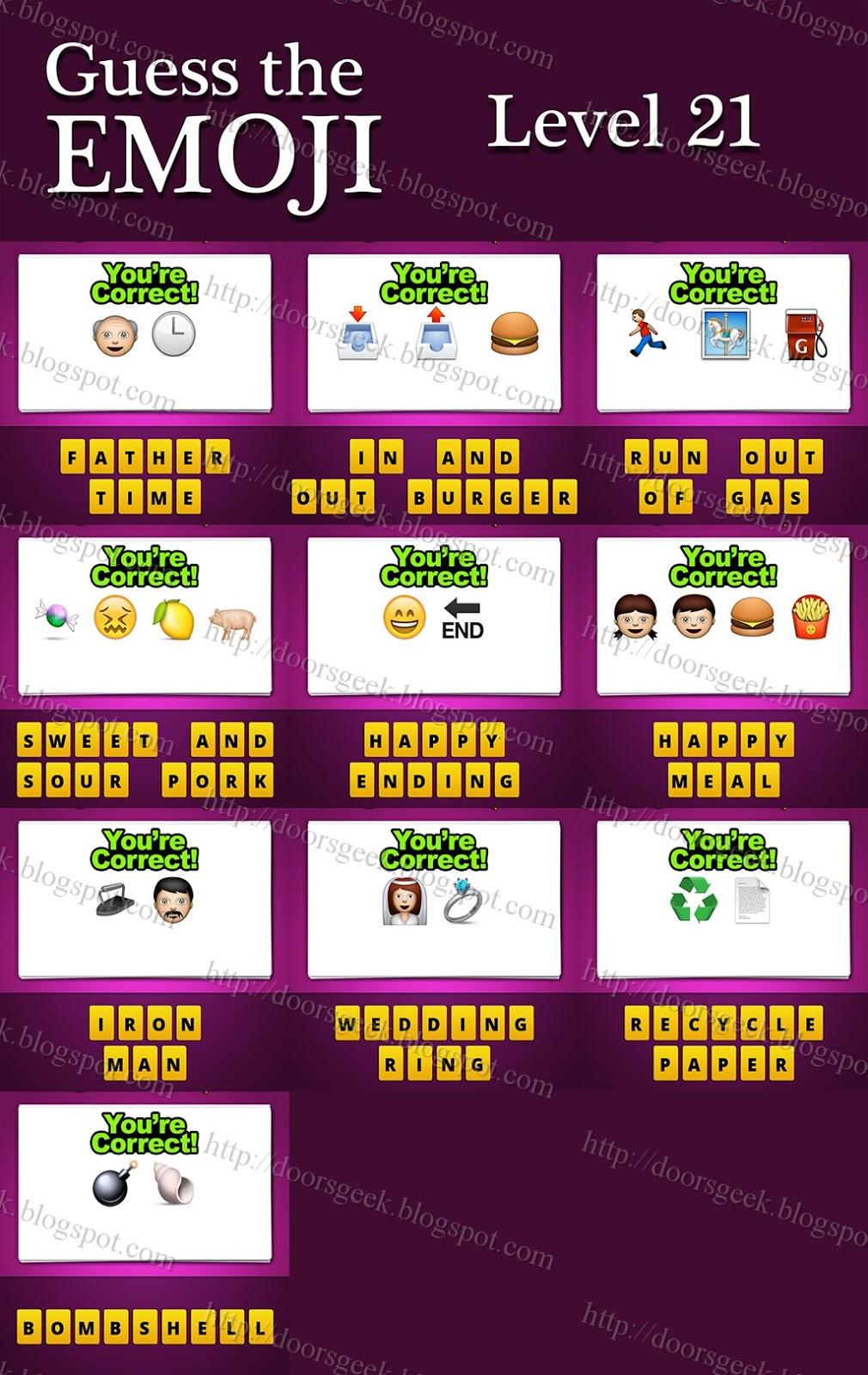 Door Emoji Answer Guess The Emoji Movie 141 Answer Sc 1 St Fun