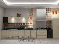 Desain Dapur Minimalis Bentuk Lurus