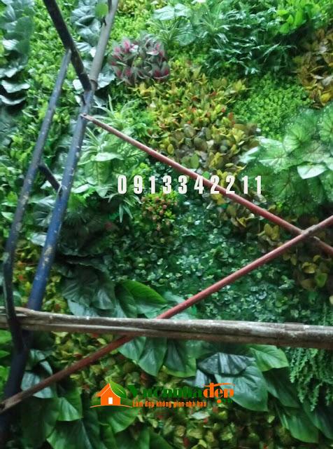 Thi Công tường cây giả - Đẹp như tường cây thật - 28