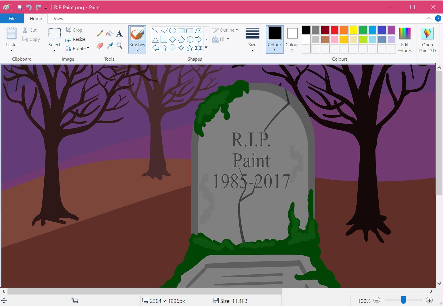 RIP - Fim do Paint no Windows?