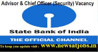 Sbi-Advisor-Chief-Officer-Vacancy