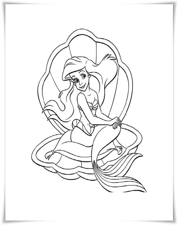 Ungewöhnlich Malvorlagen Ariel Die Meerjungfrau Ideen ...