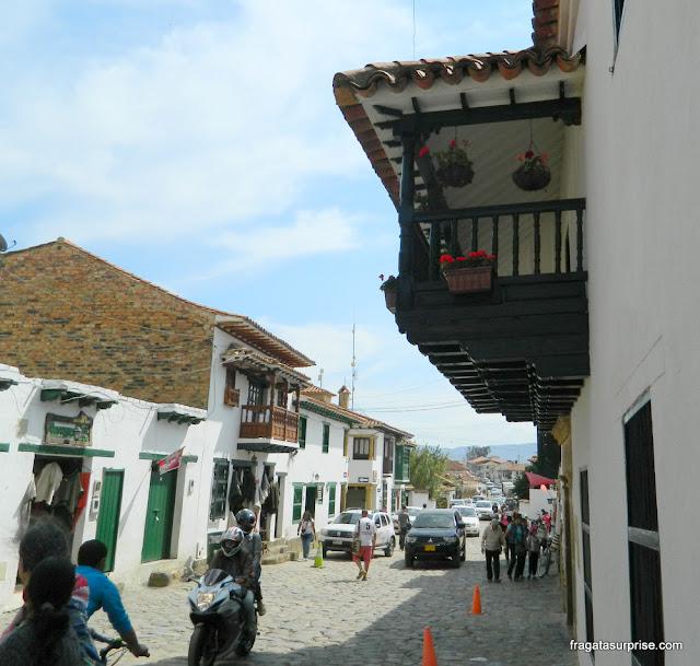 Rua de Villa de Leyva, Colômbia