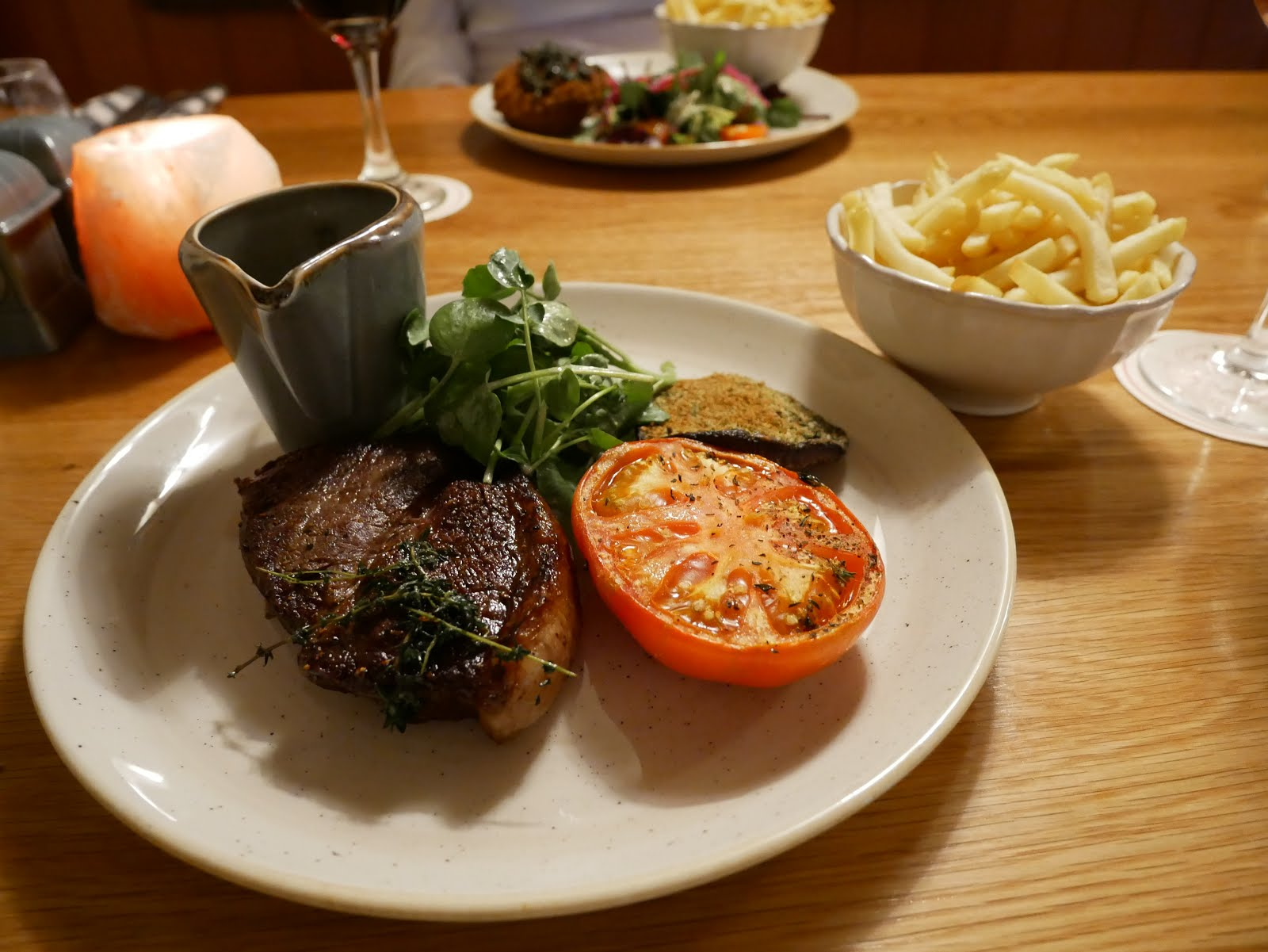 St Mary's Inn steak