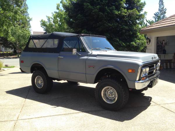 1971 GMC Jimmy 4x4 For Sale