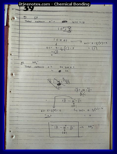 Chemical Bonding Notes IITJEE 16