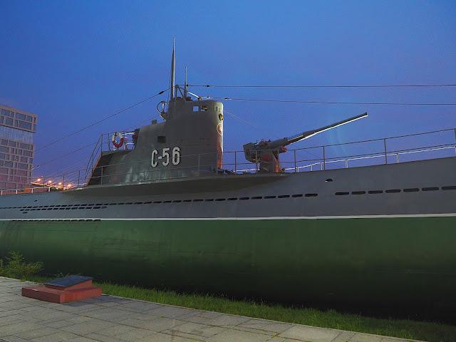 Владивосток, подводная лодка (Vladivostok, submarine)