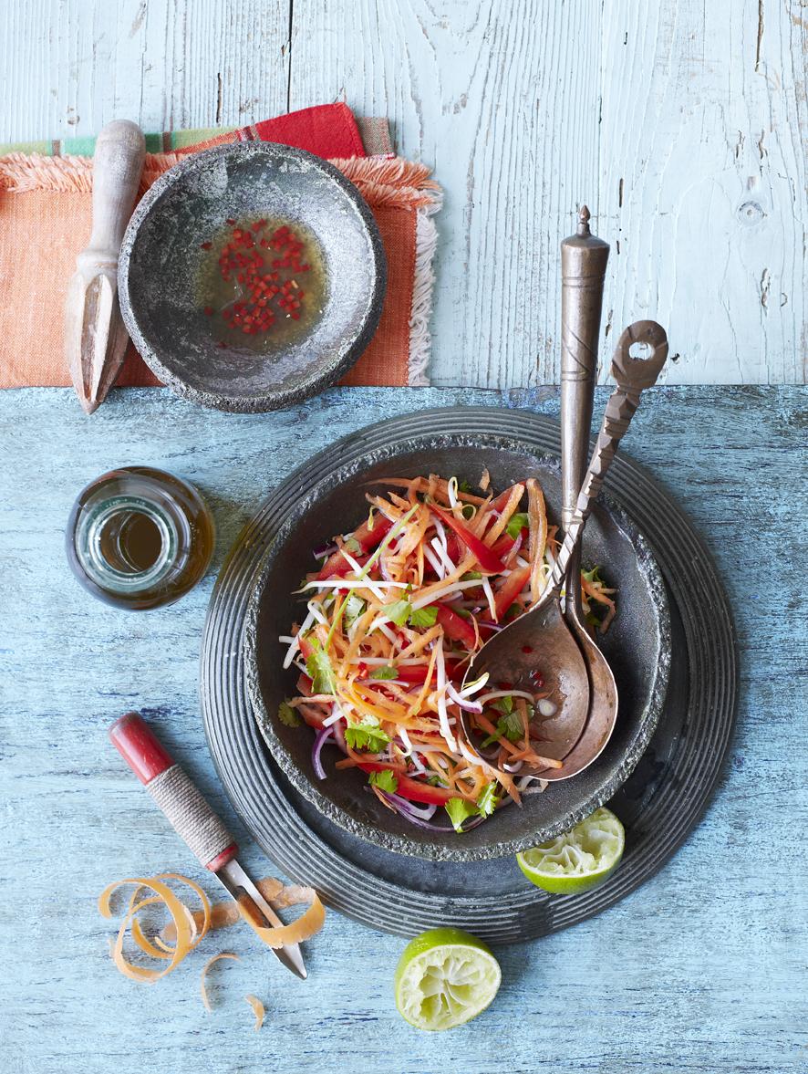 Thai Carrot Salad Bbc Good Food