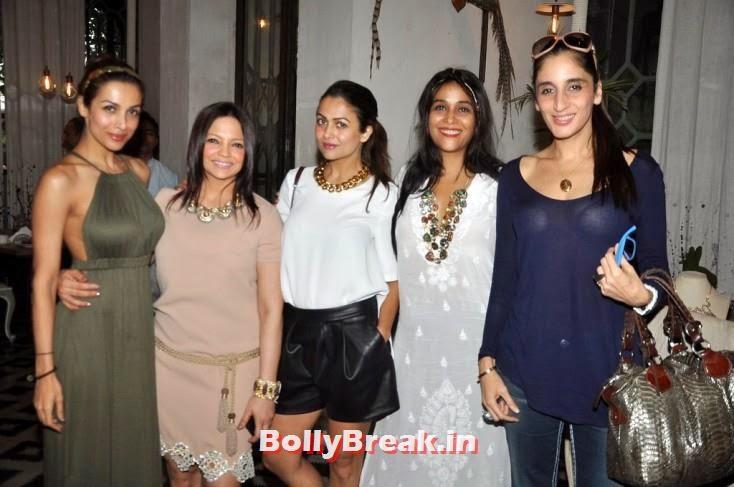 Malaika Arora Khan, Deanne Panday, Amrita Arora, Sheen Sippy and Farah Ali Khan, BeSpoke Vintage Launch Pics