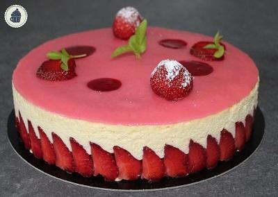 Extraordinaire Recette De Fraisier De Cyril Lignac la gourmandise selon sandrine: le fraisier