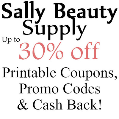Sally Beauty Supplies Printable Coupon January 2016, February 2016