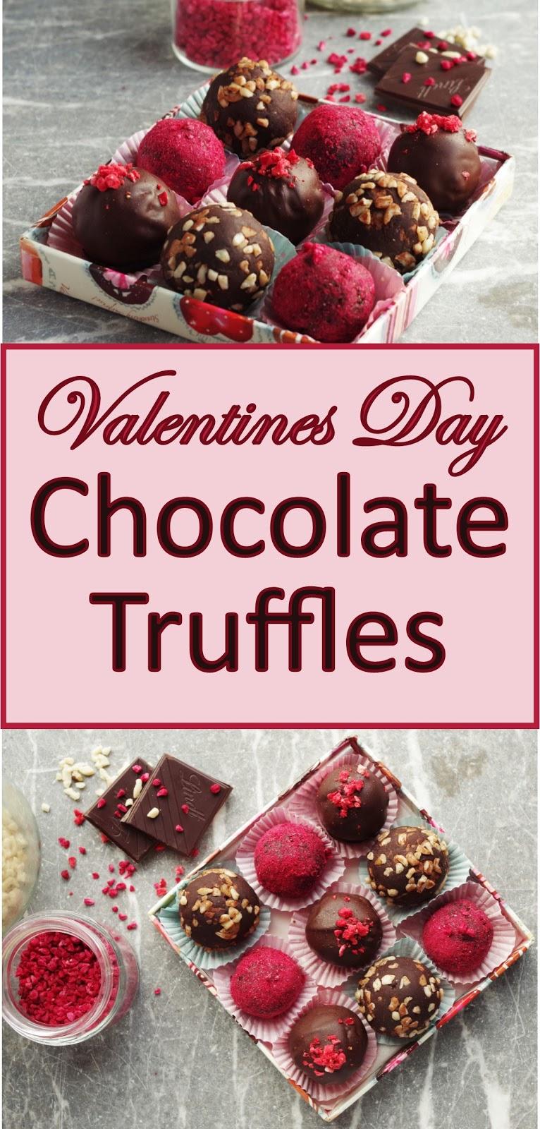 Valentine S Day Chocolate Truffles Euphoric Vegan