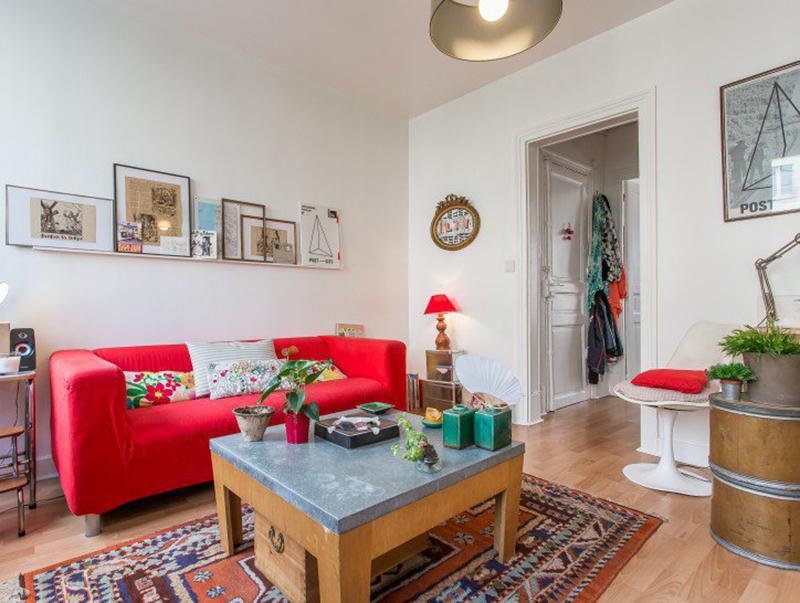 Un appartement bohème de 30m2 à Vincennes | Blog Déco | MYDECOLAB