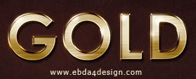 تحميل ستايل الذهب للفوتوشوب مجاناً, Photoshop Styles free Download, Gold Photoshop Style free Download