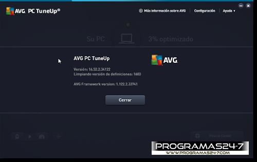 AVG PC TuneUp 2016 pc